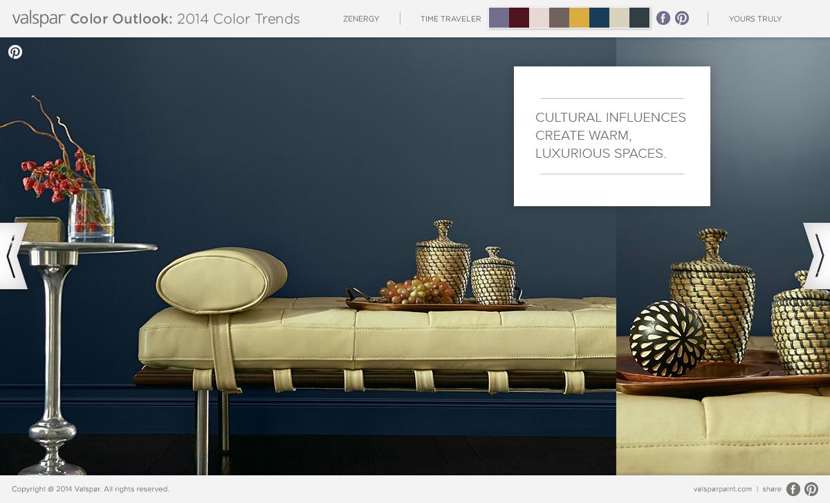 Valspar 2014 Color Trends