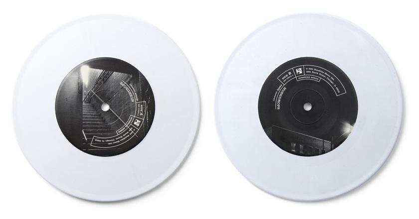 Hushdrops 7in single vinyl