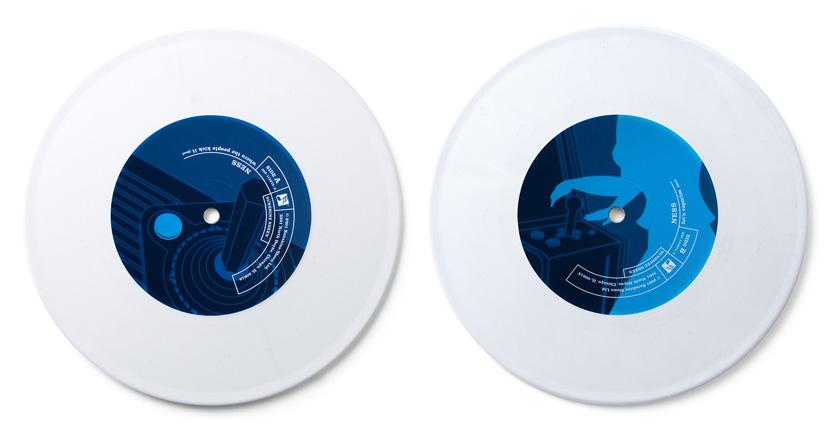 Ness 7in single vinyl