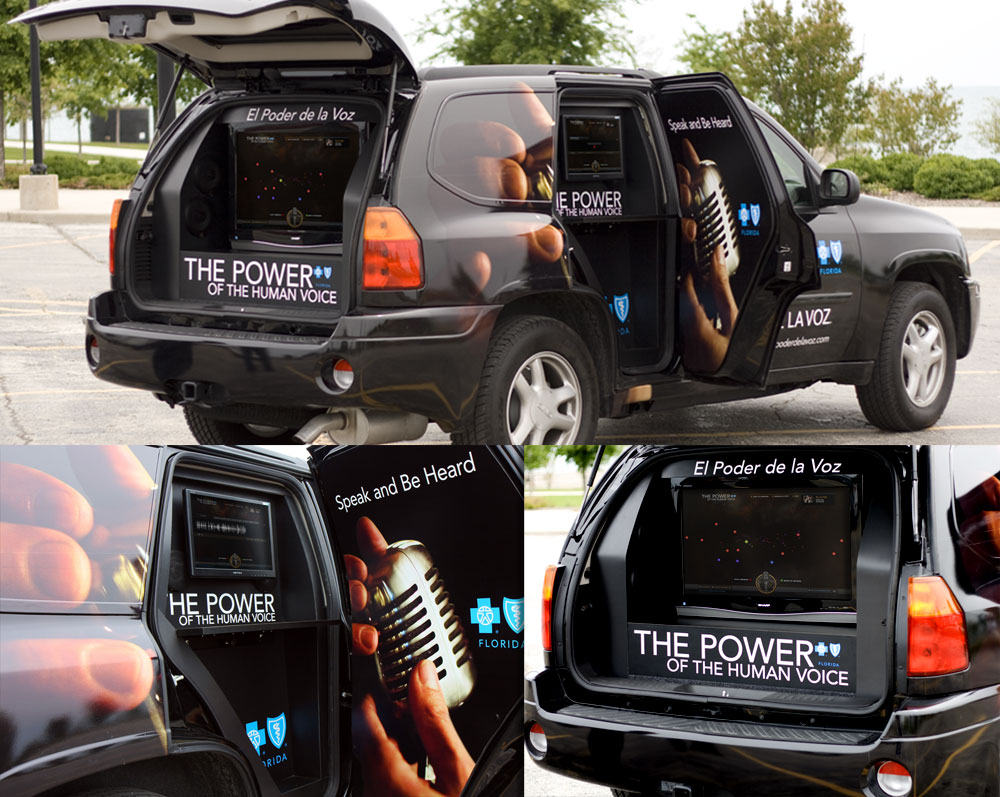 The Power of the Human Voice mobile recording truck
