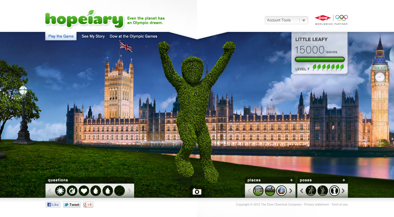 Dow Hopeiary.com - Winning