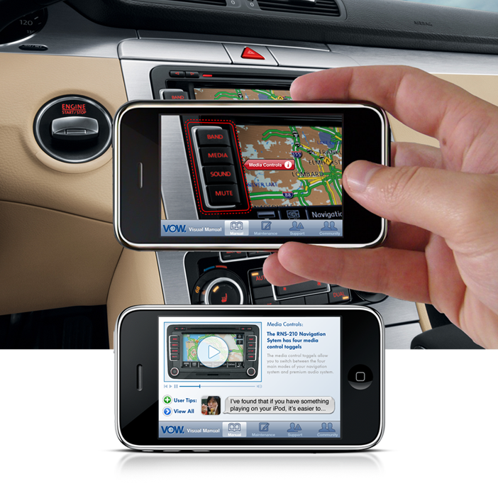 Volkswagen - Mobile Virtual Manual App